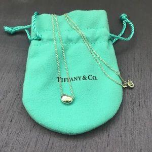 Tiffany & Co. Elsa Peretti Bean Necklace